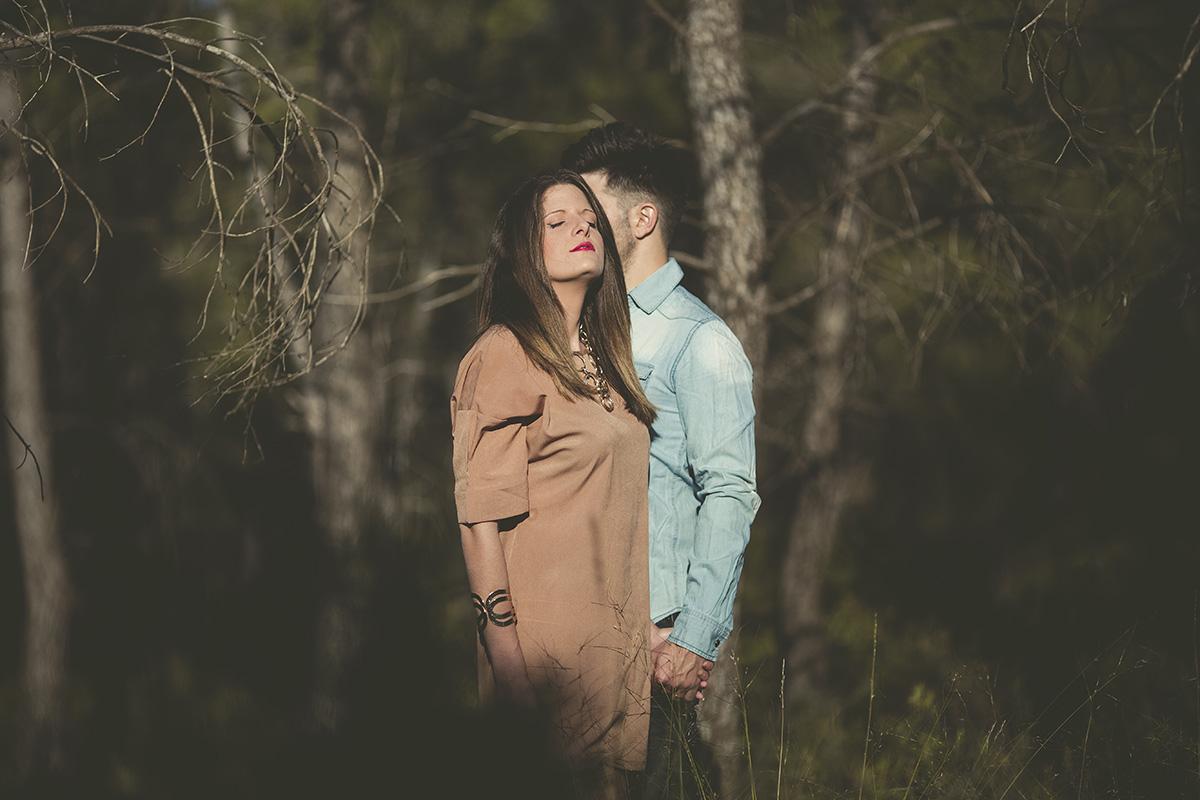 Reportaje de pareja en exteriores (1)