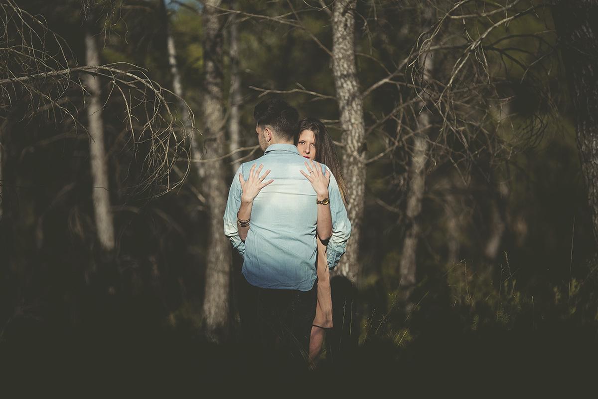 Reportaje de pareja en exteriores (2)