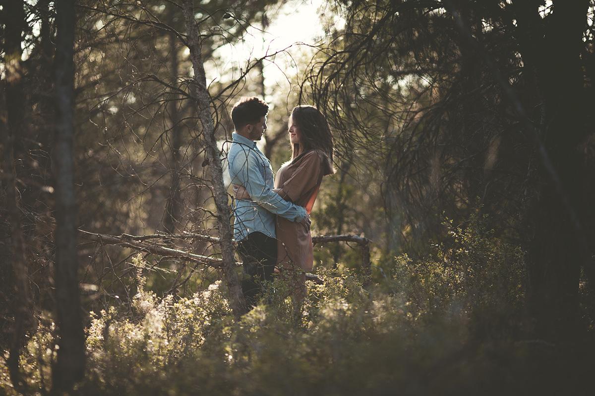Reportaje de pareja en exteriores (4)