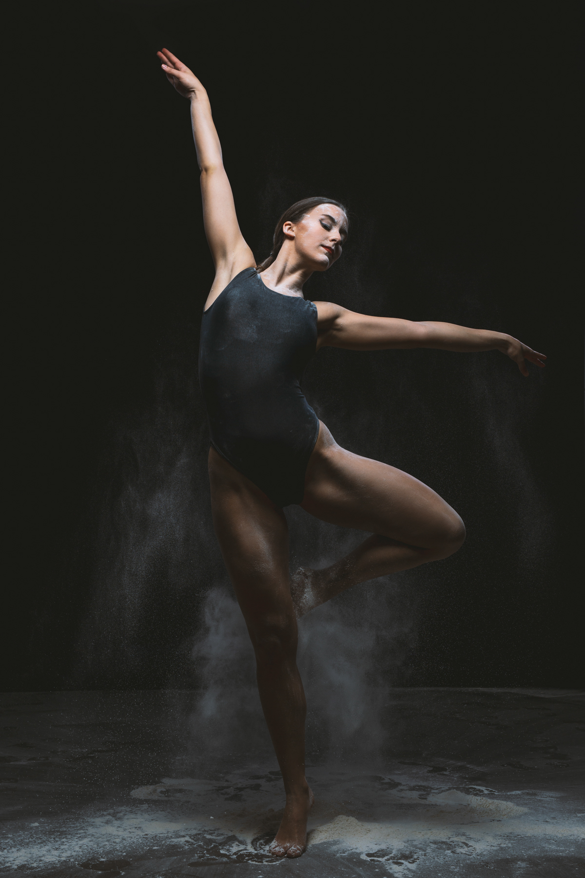 Reportajes fotos para bailarinas