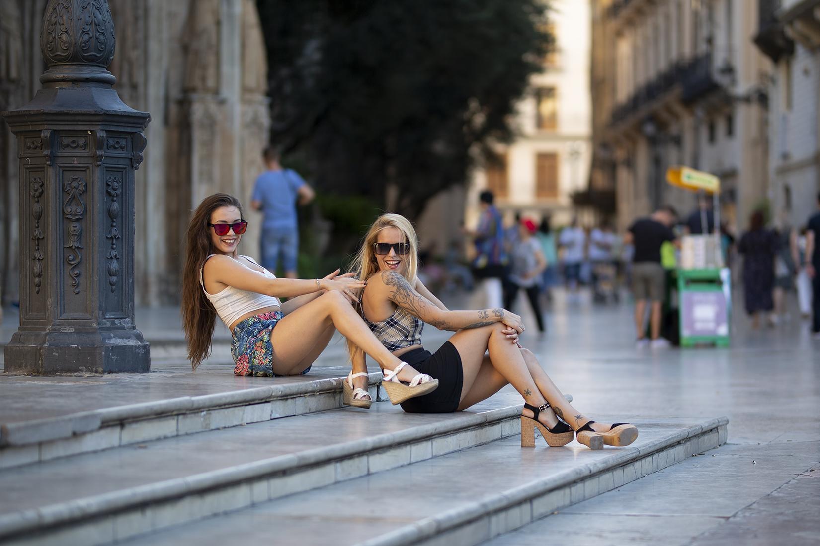 Sesiones de fotos en la ciudad Valencia